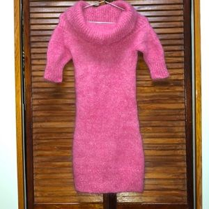 Dresses & Skirts - Pink sweater dress